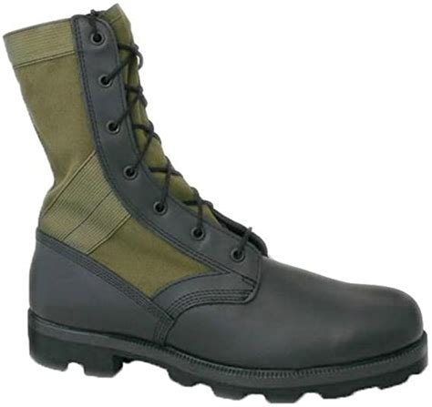 Jungle Boots W/Vulcanized Rubber Sole OD Green Altama 8852