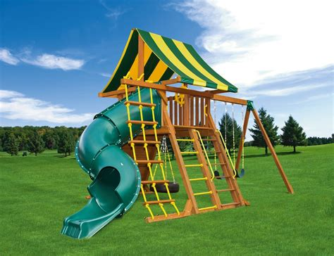 Jungle Gym Plans With Tube Slide