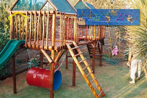 Jungle Gym Wood Diy Plans