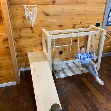 Jungle Gym Wood Diy Small