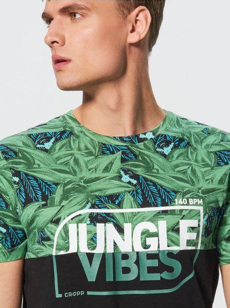 d6c31b6b ⭐ 💯 Jungle Vibes T-Shirt , Cropp ™