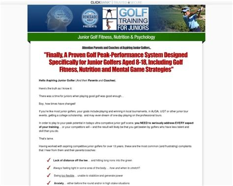 [click]junior Golf Training   An Untapped Market Review   Omfg .