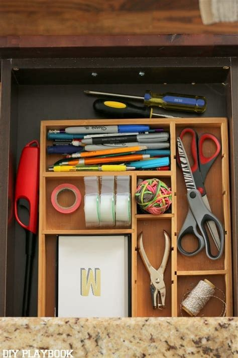 Junk Drawer Organizer Diys Easy