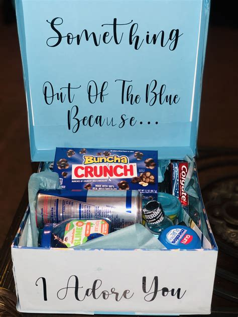 Just Because DIY Gift Box Boyfriend