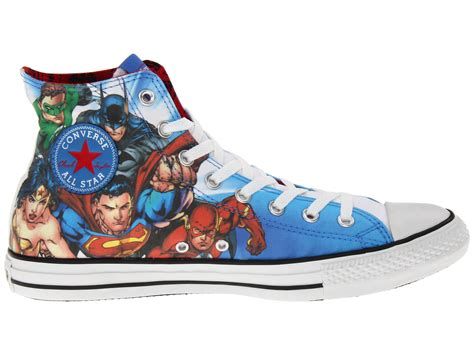 Justice League Converse Sneakers