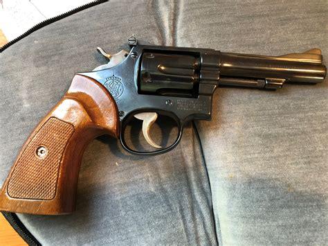 K Frame Revolver And 9mm Ar Bolt