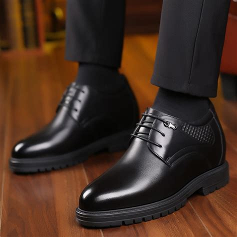 K881805-5.2 Inches Taller - Height Increasing Elevator Shoes (Black Boots)