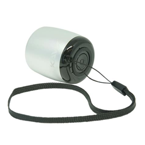 KAVY Mini Wireless Speaker (Silver)