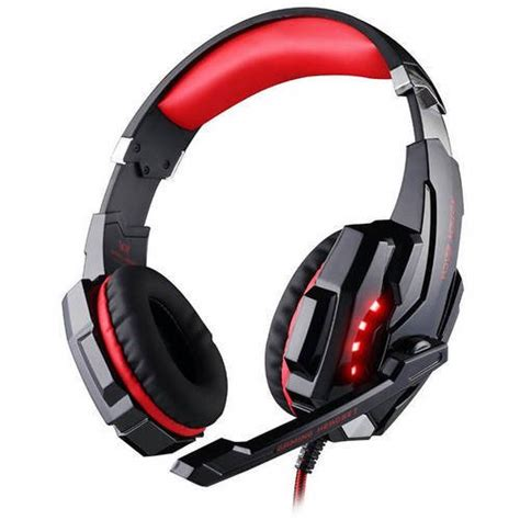 KOTG9000BL - Kotion G9000BL Premium Gaming Headset with USB and Microphone