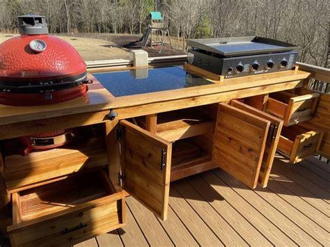 Kamado-Grill-Stone-Table-Plans