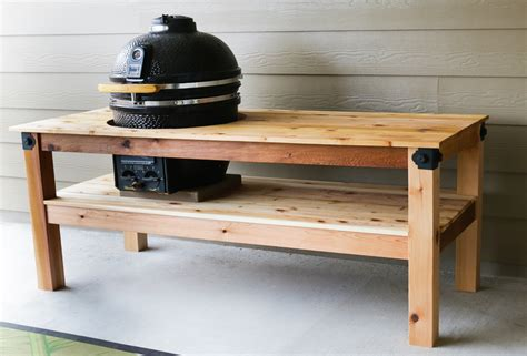 Kamado-Grill-Table-Diy