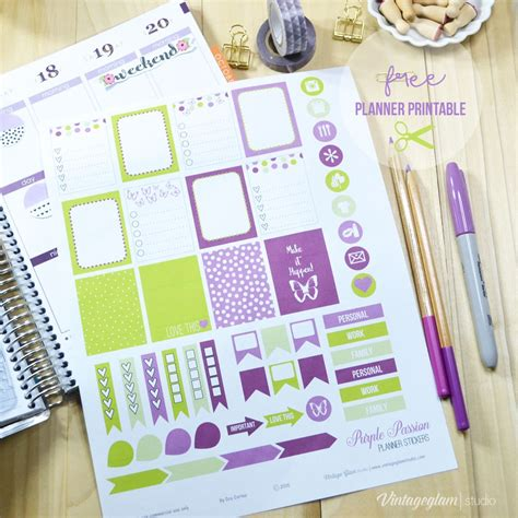 Karen Wood The Diy Planner Stickers