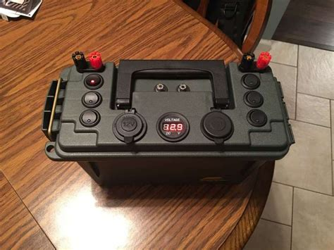 Kayak Battery Box Diy Chrzest