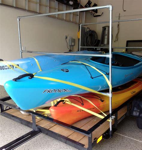 Kayak-Rack-Plans-For-Trailer