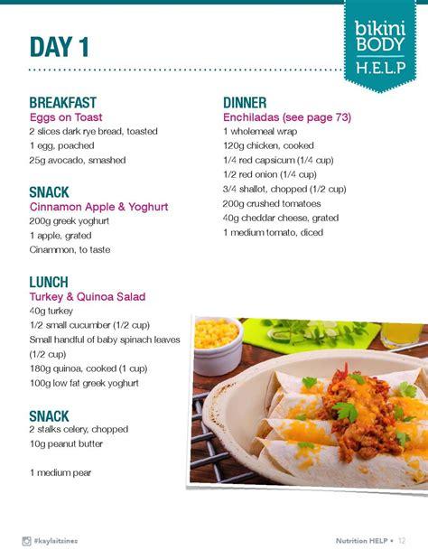 Kayla-Itsines-Meal-Plan-Table