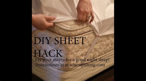 Keep Sheets On Bed Diy Ideas