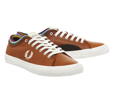 Kendrick Tipped Cuff Leather Sneaker