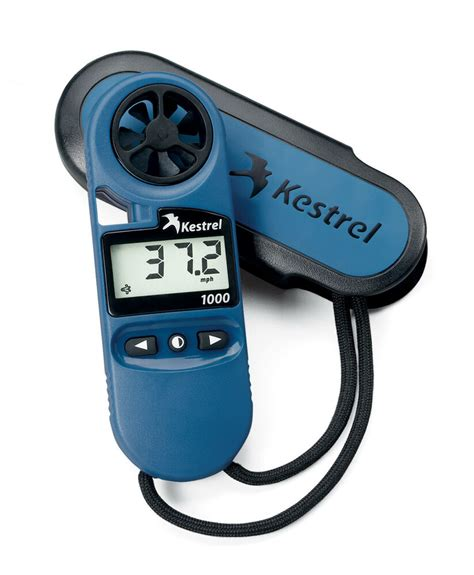 Kestrel 1000 Pocket Wind Meter Anemometer Blue.