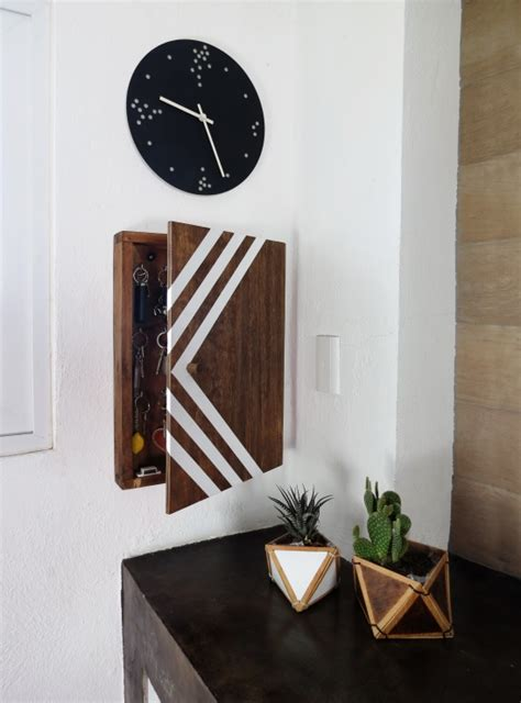 Key Holder Box Diy Chrzest