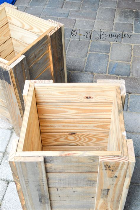 Keyhole Planter Box Plans Free