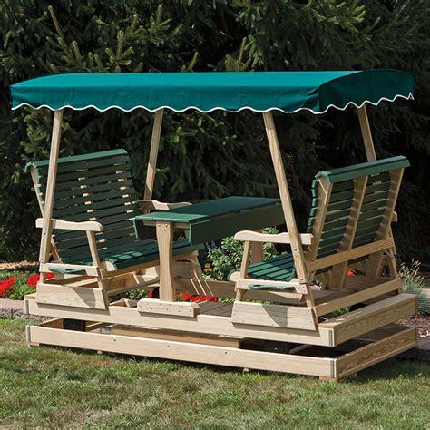 Keystone-Wood-Amish-Glider-Bild-Plans