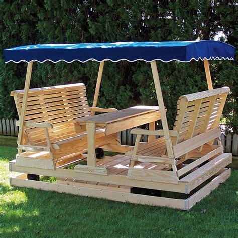 Keystone-Wood-Amish-Glider-Plans