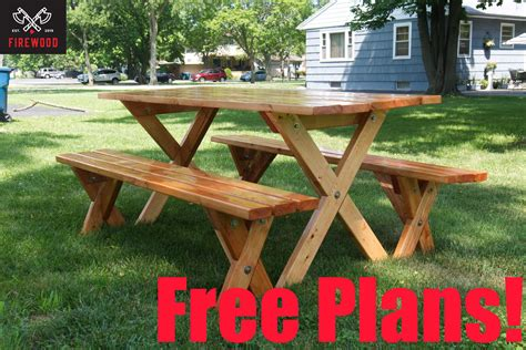 Kickass Diy Picnic Table