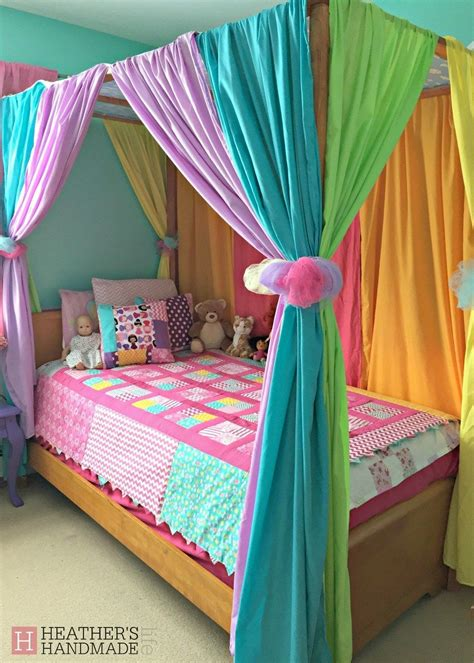 Kid Bed Canopy Diy