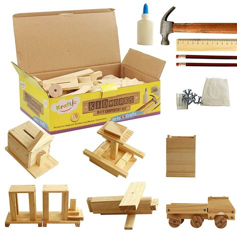 Kid Woodworking Kits