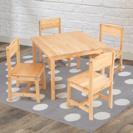Kidkraft-Farmhouse-Table-And-4-Chairs