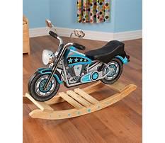 Best Kidkraft motorcycle rocking horse