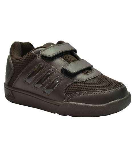Kids Adidas Brown Sneakers