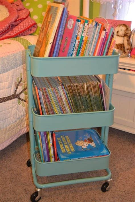Kids Book Storage Pinterest