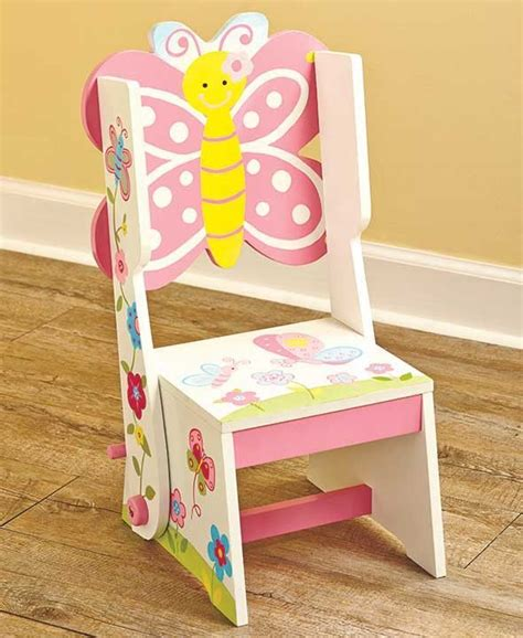 Kids Convertible Step Stool Chairs