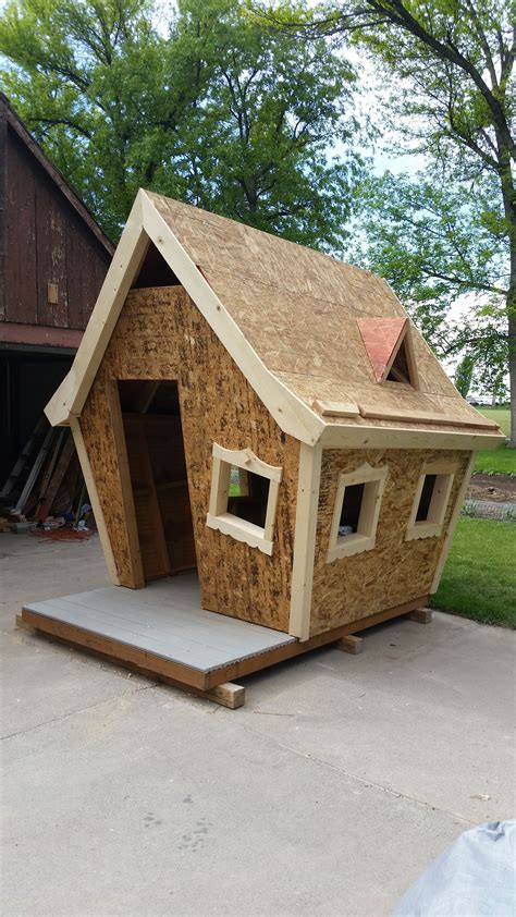 Kids Crooked House Playhouse Plans