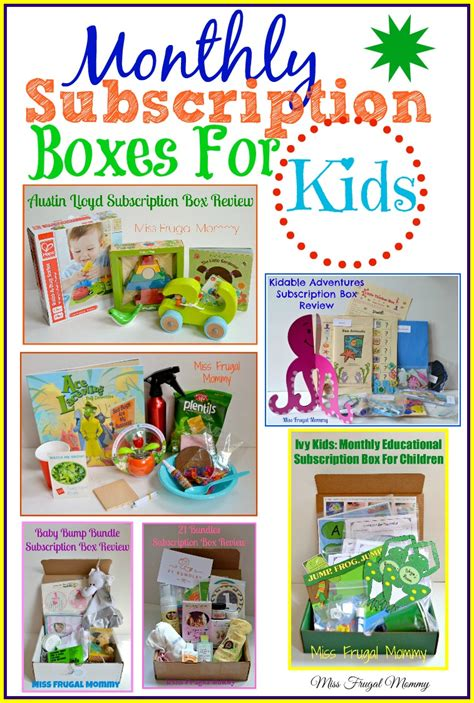 Kids Monthly Box Diy For Store