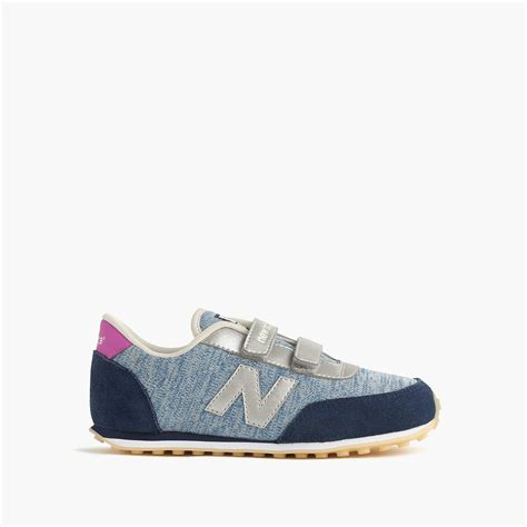Kids New Balance For Crewcuts 410 Velcro Sneakers