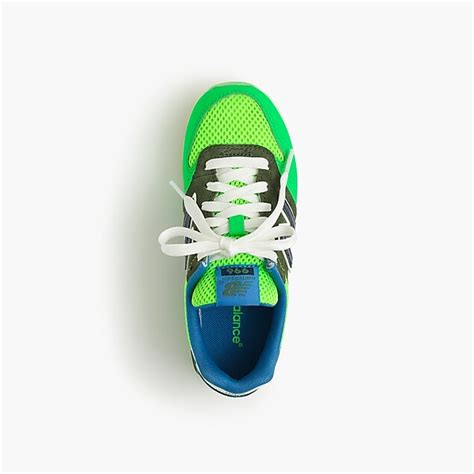 Kids New Balance For Crewcuts 996 Lace Up Sneakers