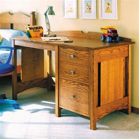 Kids Oak Desk Plans