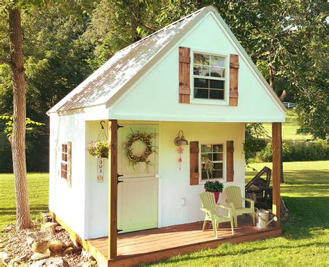 Kids Outside Playhouse Plans