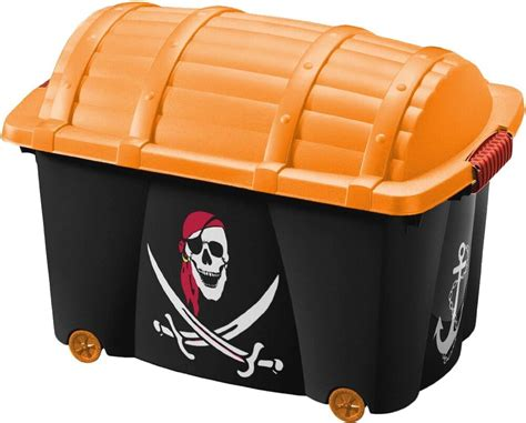 Kids Pirate Chest Toy Chest