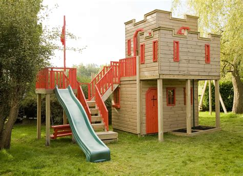 Kids Play Castle Plans