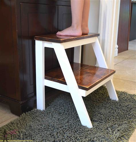 Kids Step Stool Plans From Diy