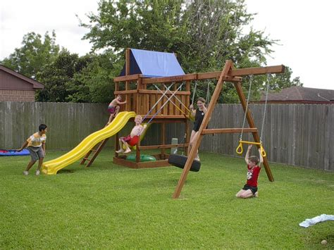 Kids Swing Set Plans