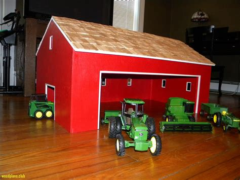 Kids Toy Wooden Barns
