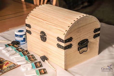 Kids Treasure Chest DIY Wood