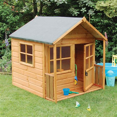 Kids Wood Playhouse