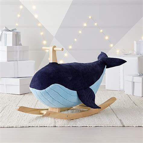 Kids Wooden Whale Rocker Plans