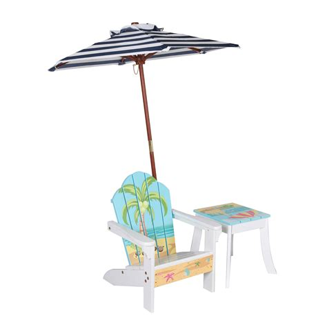 Kids-Adirondack-Chair-With-Umbrella