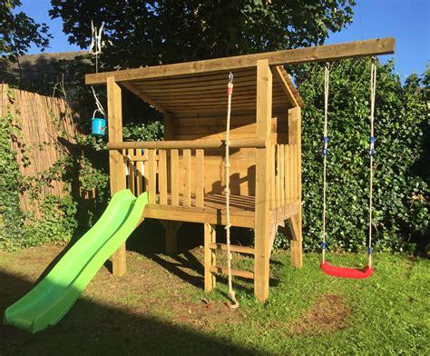 Kids-Outdoor-Fort-Plans